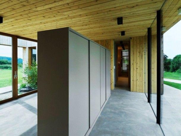 Weekend House By Marketa Cajthamlova | Weekend House, Concrete Block Walls  And Block Wall