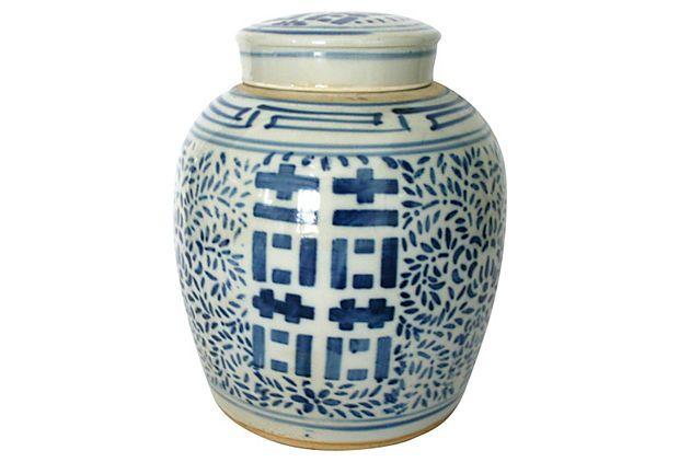 Antique Chinese Double-Happiness Jar on OneKingsLane.com