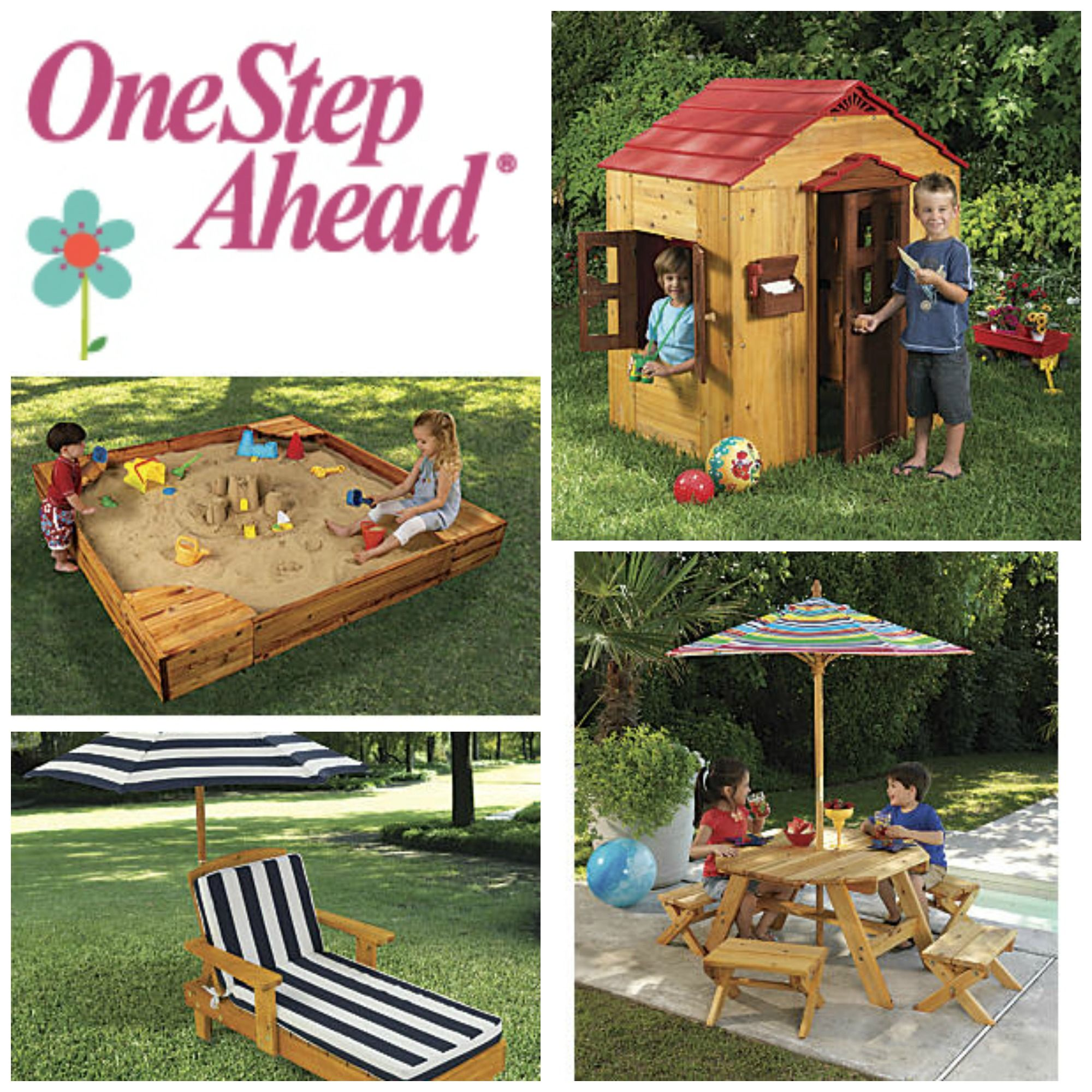 e Step Ahead KidKraft Outdoor gear & Furniture Made of high