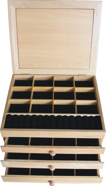 Christmas Gifts For Mom Jewelry Box 3 Drawer Eagle Mountain