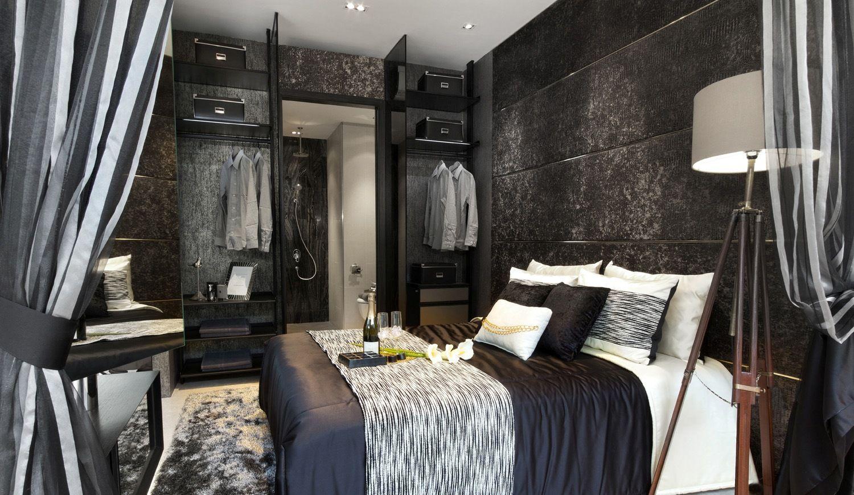 11 shades of grey bedroom ideas  Black and grey bedroom, Grey
