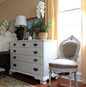 Designing Domesticity: Chair Restoration: Paint and Upholstery