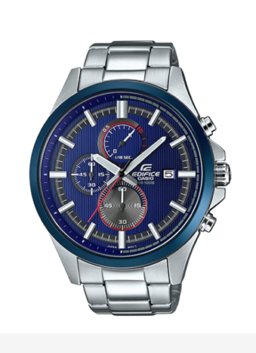 Casio Edifice Watch Efv 520rr 2av Stainless Steel 100m Original Box