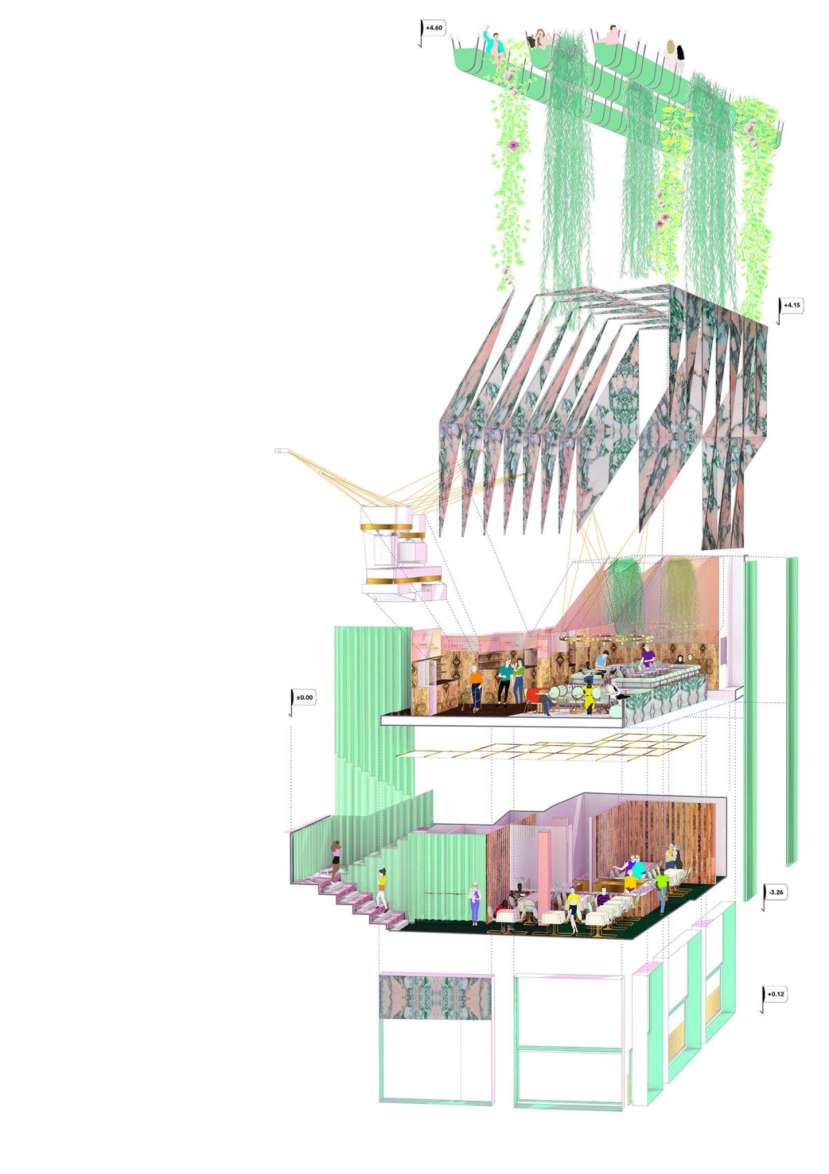 archipaper diagram pinterest architecture concept diagram and