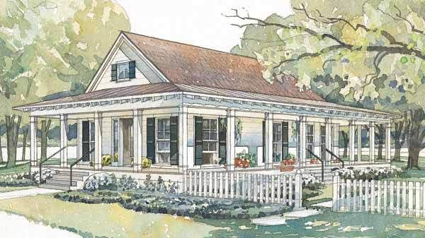 bluffton - coastal living | southern living house plans | cottages