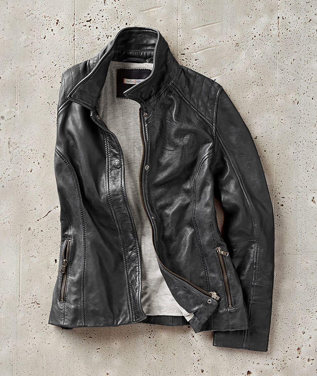 Women S Sloane Moto Jacket In Leather Jacket Outfit Women Leather Jackets Women Leather Jacket [ 1200 x 1011 Pixel ]