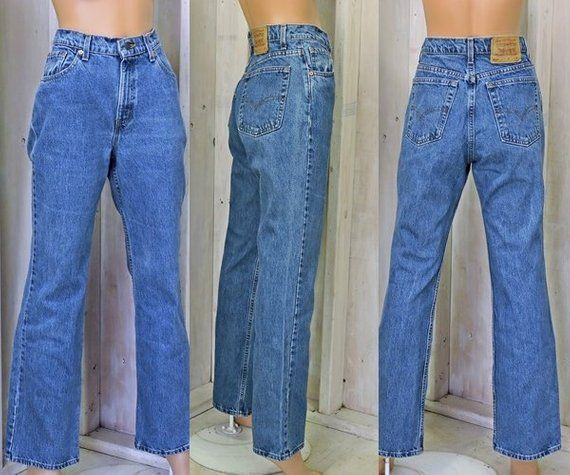 742eb6f4 Vintage Levis 517 jeans 32 X 31 size 10 / 12 / Boot cut Levis / mens or  womens
