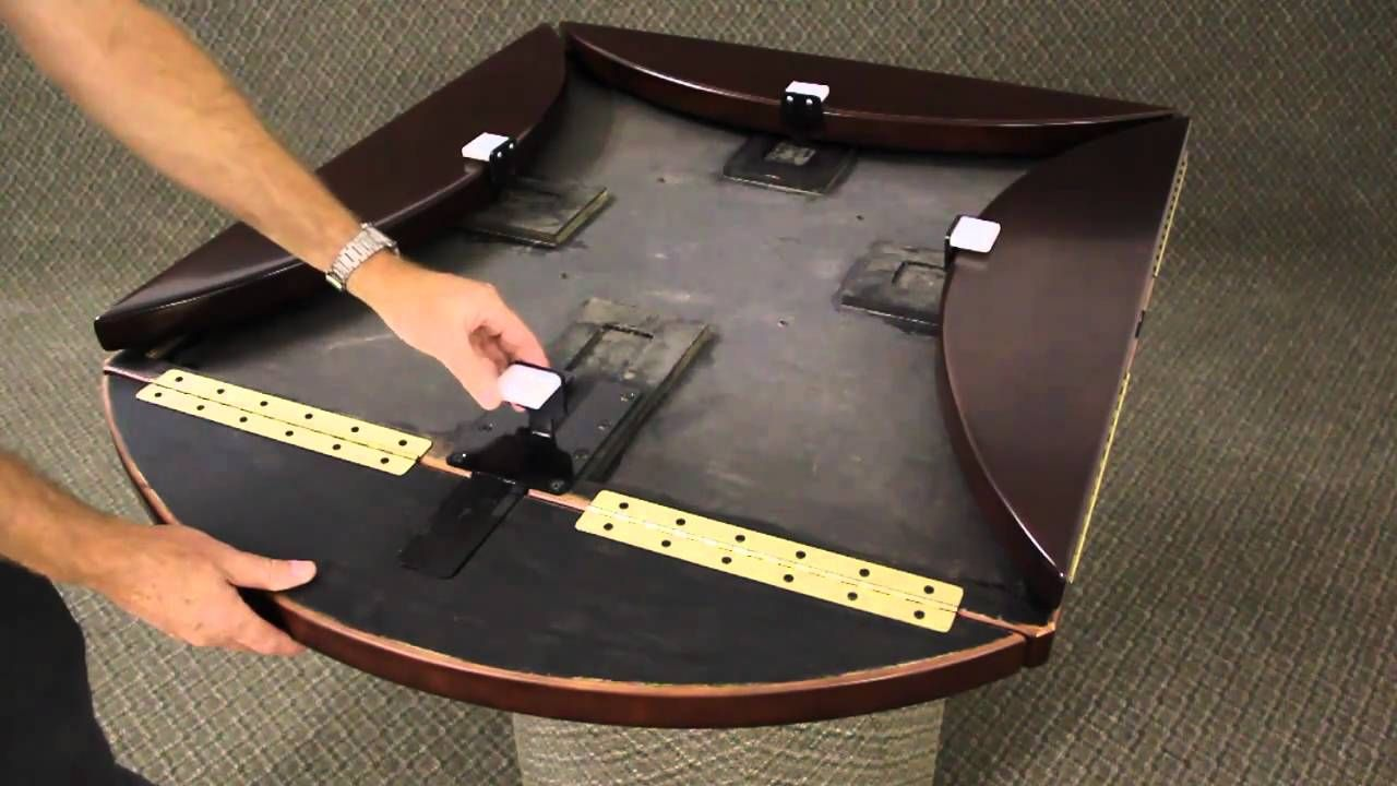 Etonnant TableTopics Drop Leaf Mechanism