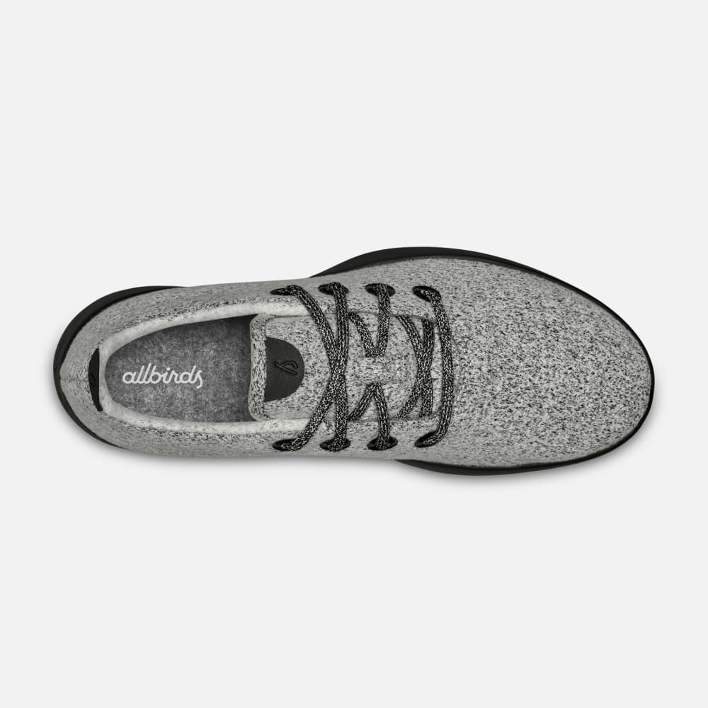 Allbirds Men/'s Wool Runners Natural Grey//Grey Sole Comfort Shoes USED