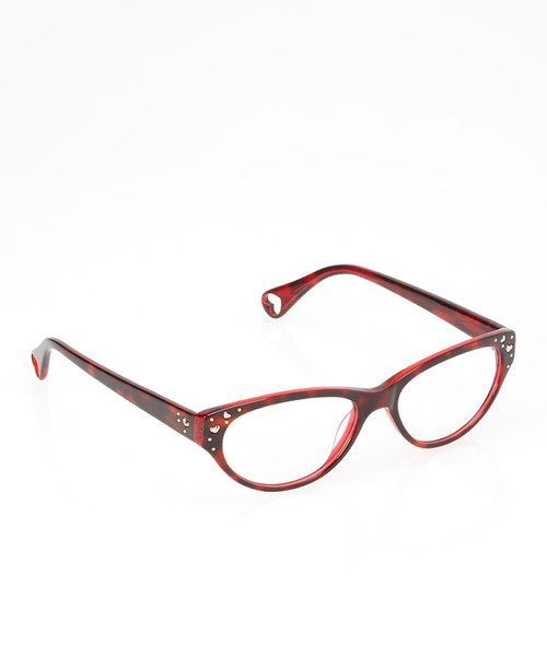 d0a6ad11a77 Take a look at the Betsey Johnson Espresso Vintage Hearts Eyeglasses on   zulily today!