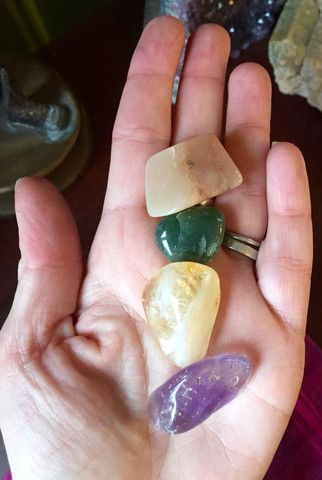 Sun Moon and Earth Gem & Crystal Store ~ Products ~ New Beginnings Pocket Stone Set ~ Shopify