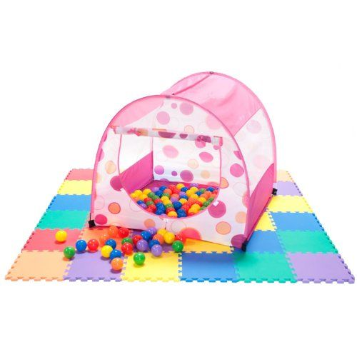 Princess Fairy Tale Polka Dot Play Tent w/ 200 « Delay Gifts