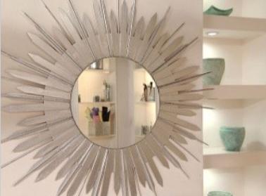 Como Decorar Un Espejo Redondo