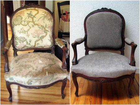 recouvrir un fauteuil | couture | pinterest | fauteuils, siège et