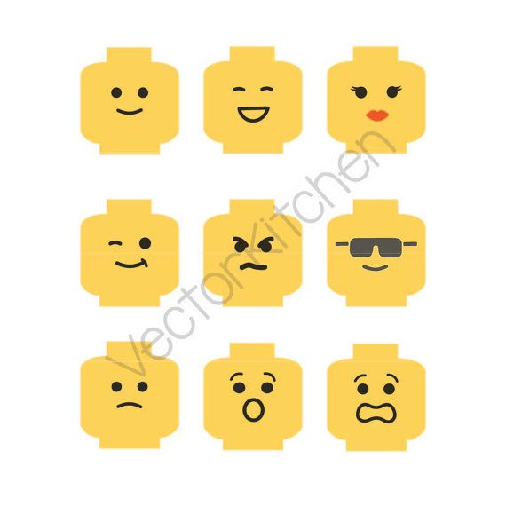 Lego Minifig Head Cutting Template This Listing Comes In Svg