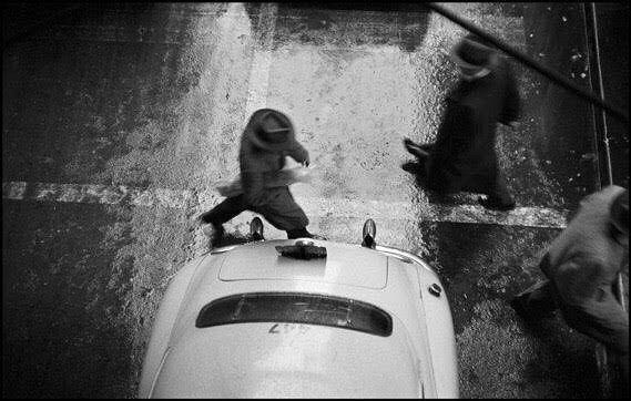 To mark the 100th anniversary of Swiss photographer Werner Bischof (1916-1954) Photobastei in Zurich presents #Bischof100 curated by Marco Bischof. April 8th to 24th. More info: http://bit.ly/BischofPhotobastei  This image: New York City. 1953.  #WernerBischof/#MagnumPhotos
