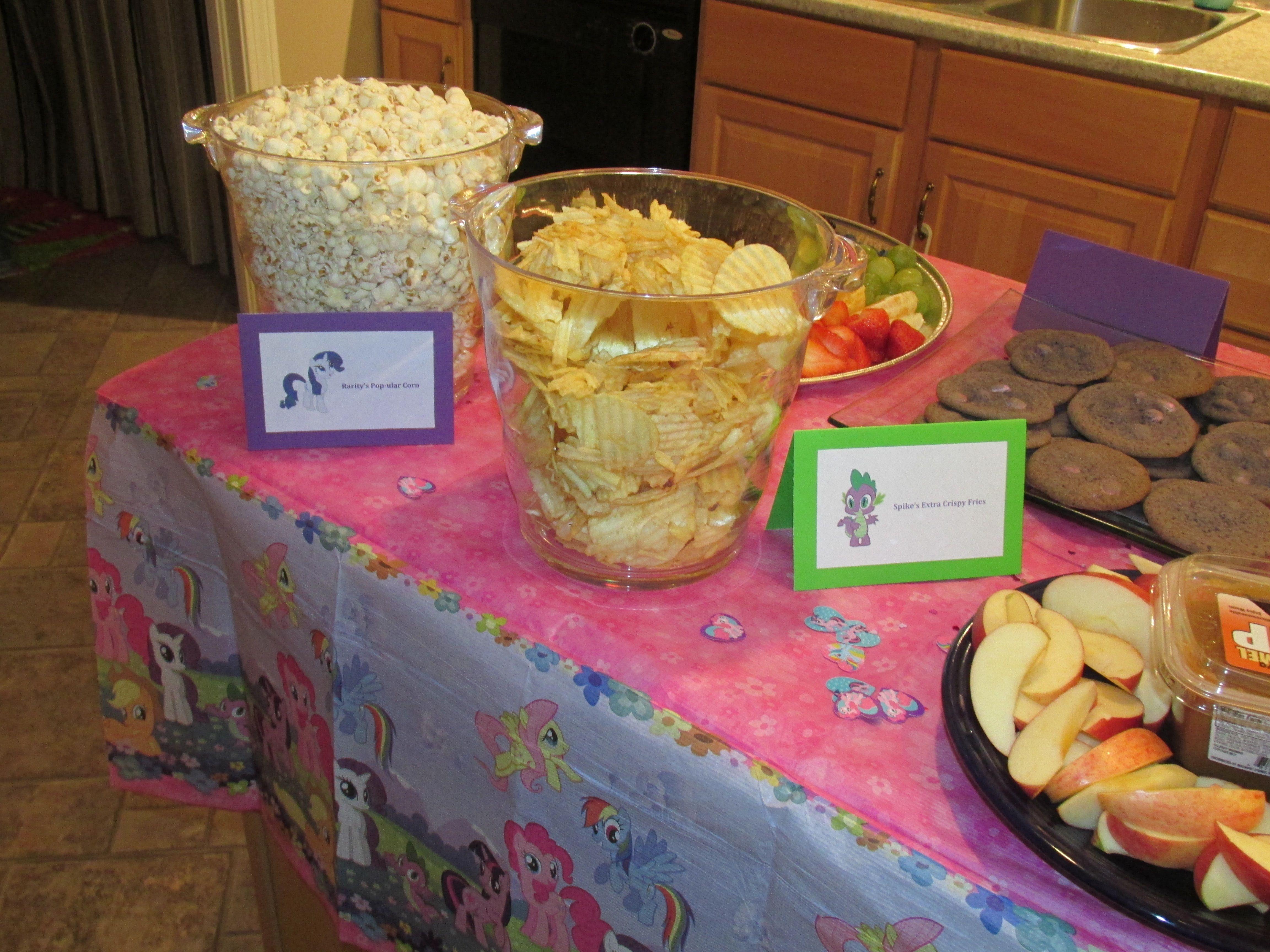 My Little Pony Birthday Party Food Idea