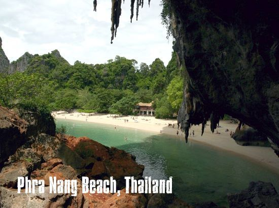 #swimming destination: Phra Nang Beach, Thailand