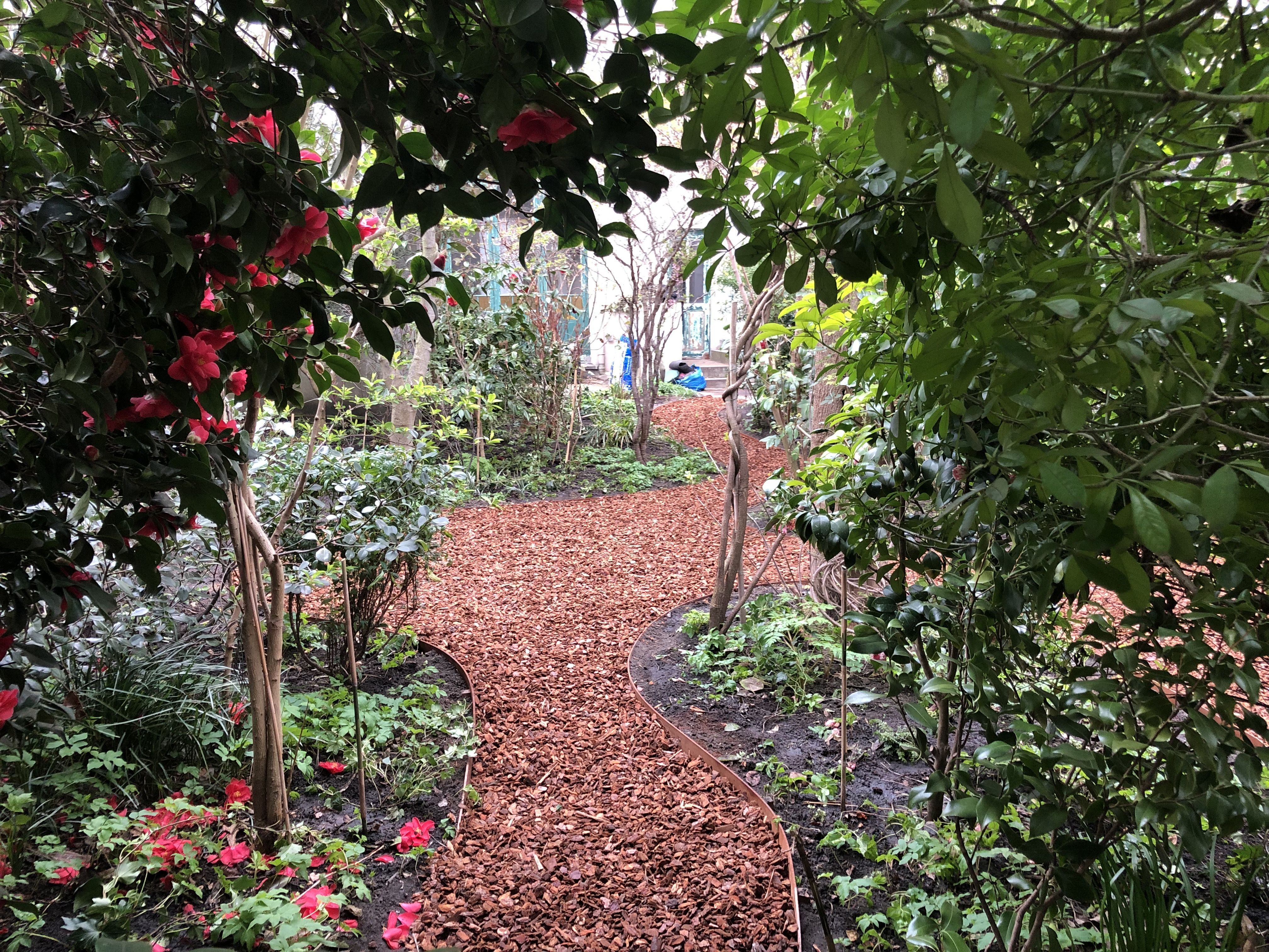 Jardin De Ville De 200m2 Bruxelles Schaerbeek Marguerite