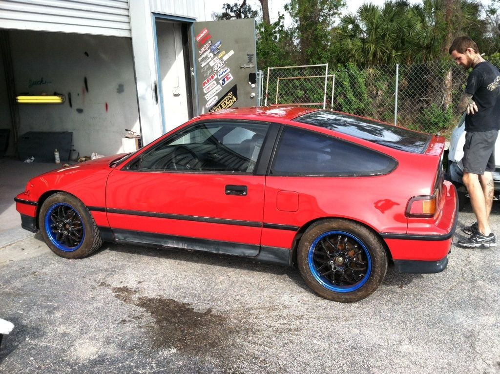 1990 honda crx for sale florida 1990 honda crx si b16 fresh paint cars pinterest. Black Bedroom Furniture Sets. Home Design Ideas