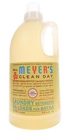 Mrs Meyer S Clean Day Laundry Detergent Limpeza