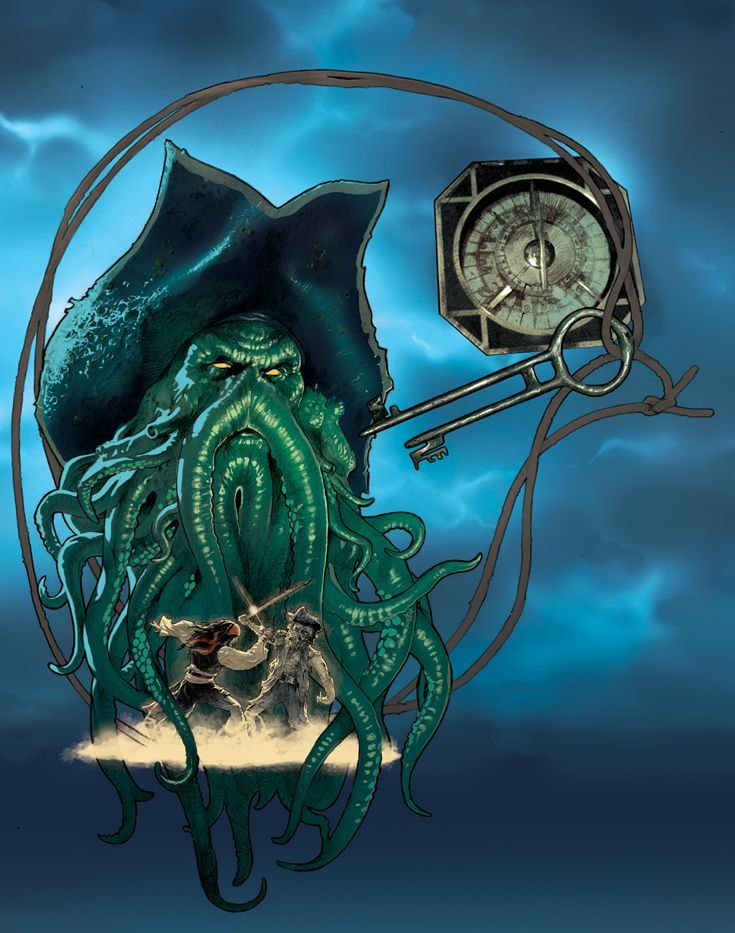 Davy Jones by Ryan Sook