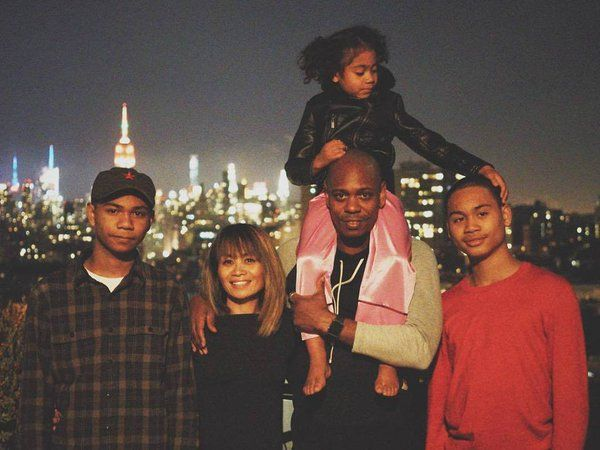 dave chappelle and family dave chappelle comedians celebrity families dave chappelle and family dave