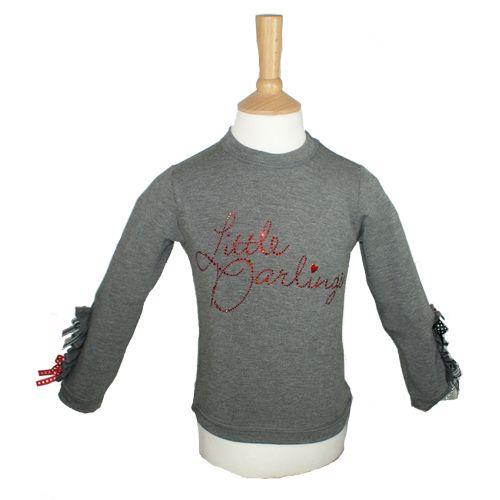 LDA1143 - Little Darlings Long Sleeve Jersey Top