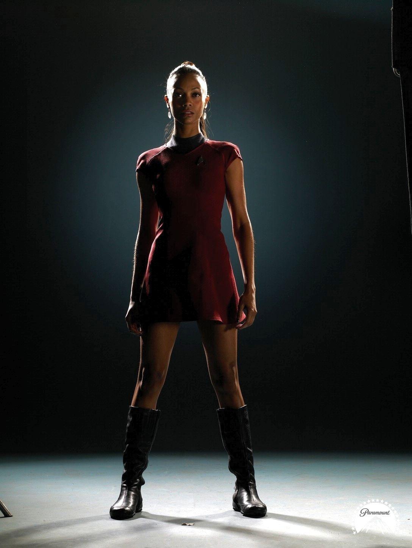 Saldana_Uhura | Star trek 2009, Star trek, Star trek movies