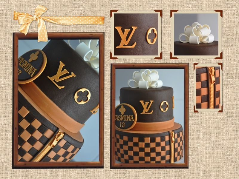 Louis Vuitton Taart