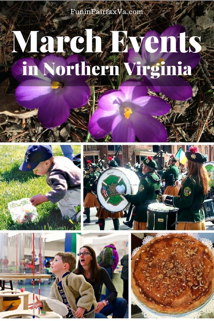 March Events In Northern Virginia Festivals And Fun Near Dc Virginia Vacation Northern Virginia West Virginia Travel