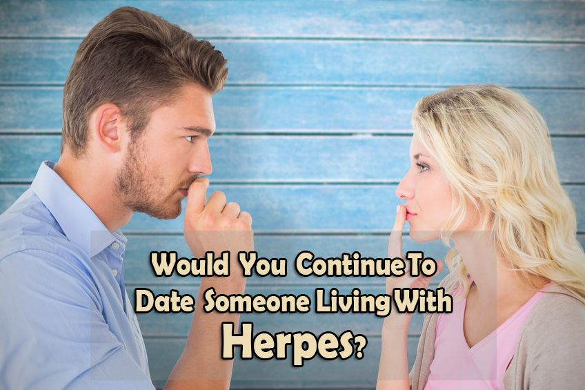Living with herpes and dating