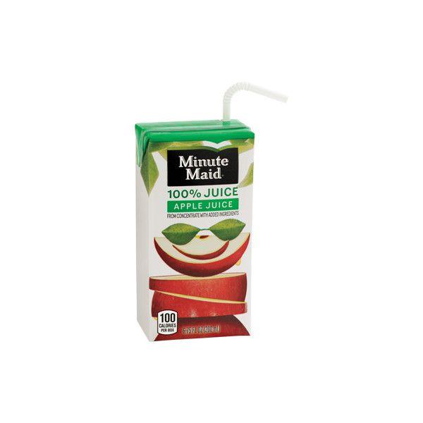 Minute Maid 100 Apple Juice Box Sonic DriveIn liked on