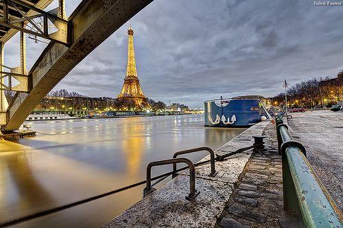Paris, la seine ...