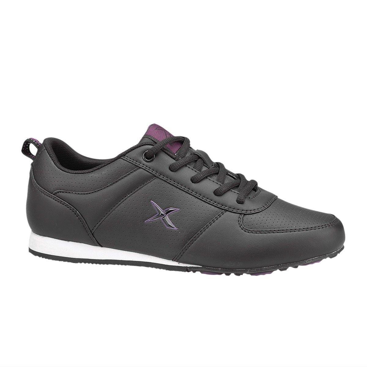 Kinetix Sonia Siyah Kadin Sneaker Sneaker Cizmeler Siyah
