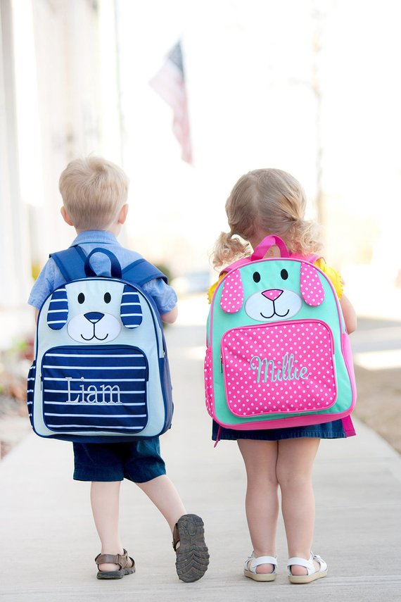 personalized puppy backpack dog