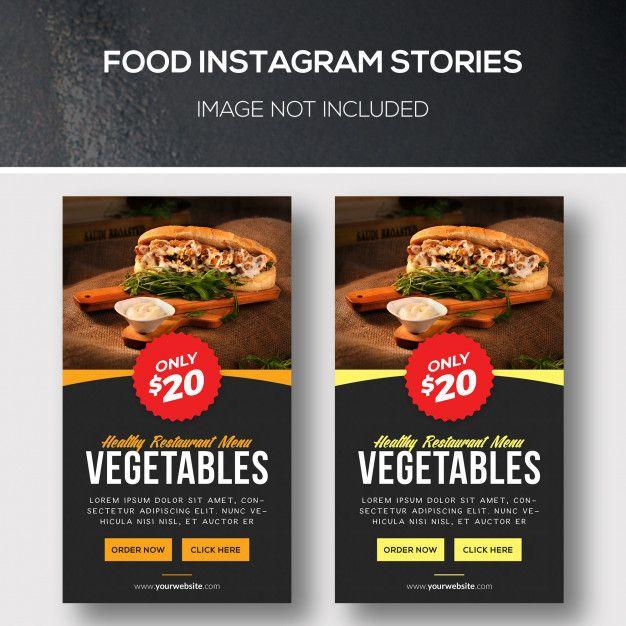 Food instagram stories Premium Psd | Premium Psd #Freepik #psd #banner #food #business #restaurant