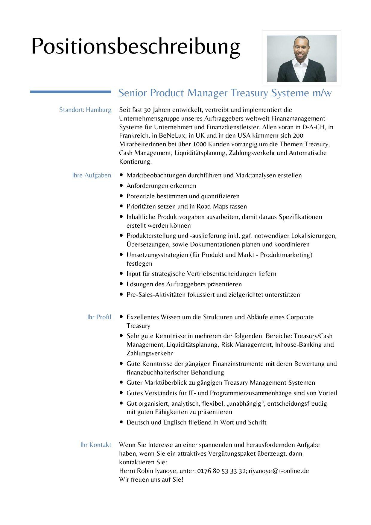 """>>Gesucht: """"Senior Product Manager - Treasury Systeme (w/m)"""" in Hamburg oder Homeoffice<<  Für mehr Infos & Kontakt-->klick"""