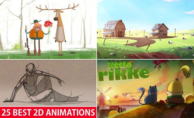 2d animation artist