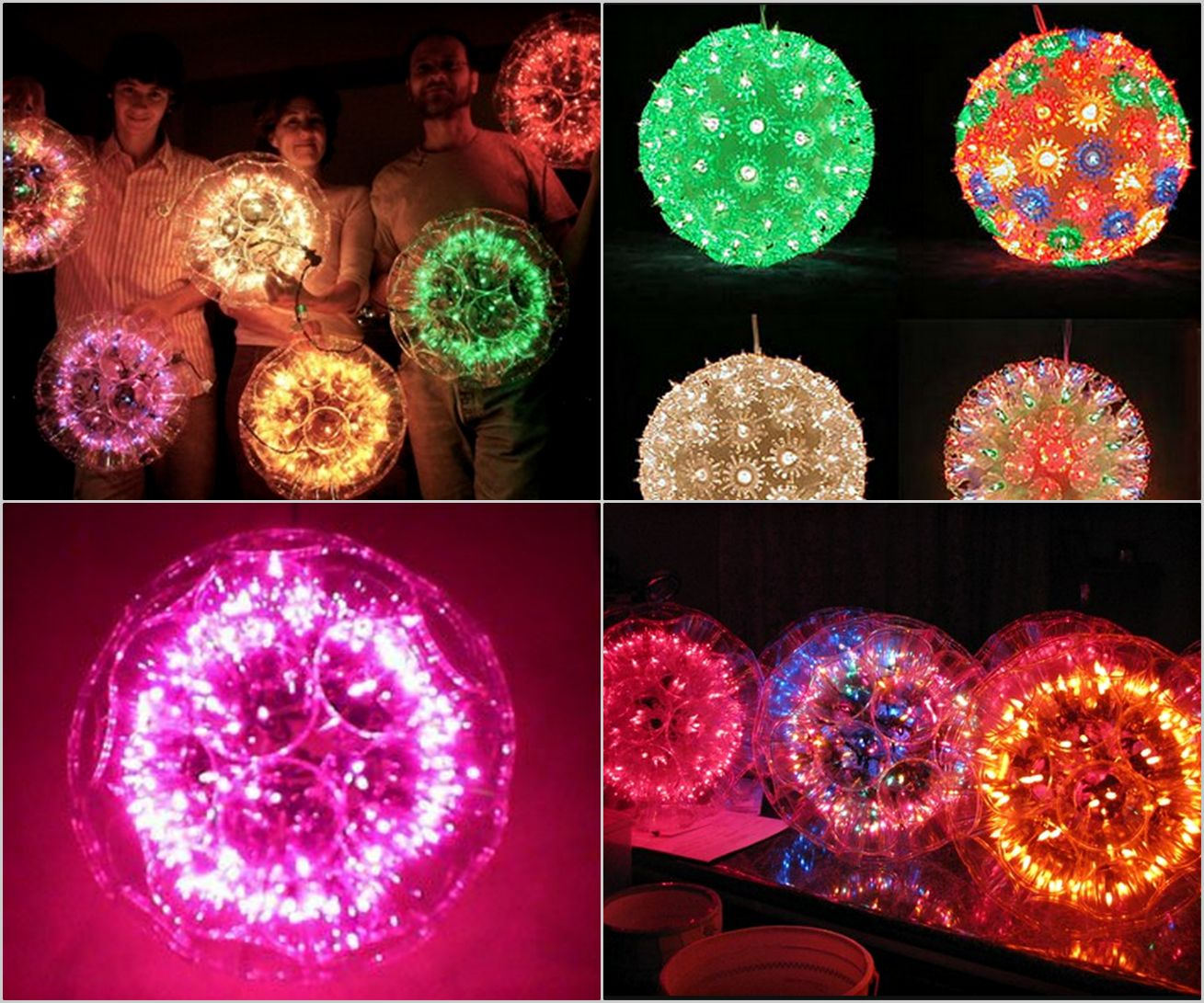 Diy sparkle ball with string lights and plastic cups plastic cups diy sparkle ball with string lights and plastic cups arubaitofo Image collections