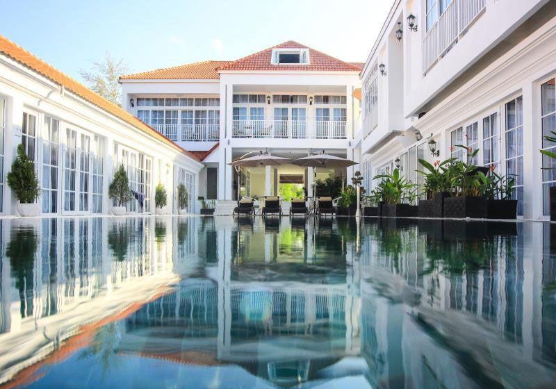 White Boutique Hotel : Sihanoukville, Cambodia