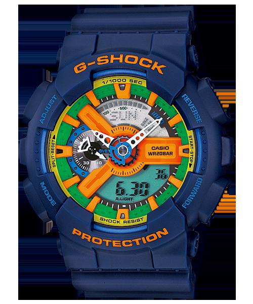 El color azul de este G-Shock se mezcla y funde con otros matices para crear un diseño único y elegante.  Encuéntralo aquí, al mejor precio.