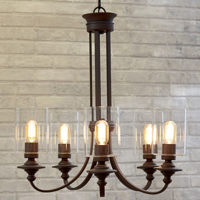 York 5 light chandelier a place of my own pinterest chandeliers 5 light aloadofball Choice Image