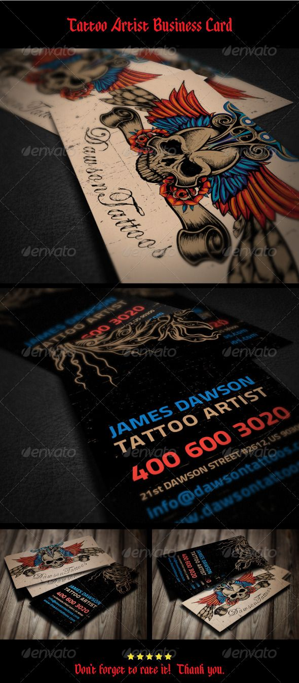 Tattoo artist business card business cards business and tattoo getting into the tattoo artist business opus tattoo inc by opus tattoo gloves are the finest magicingreecefo Image collections