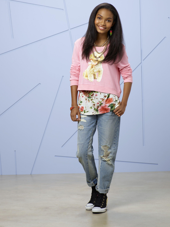 Zoey Johnson played by Yara Shahidi blackishABC Fashion
