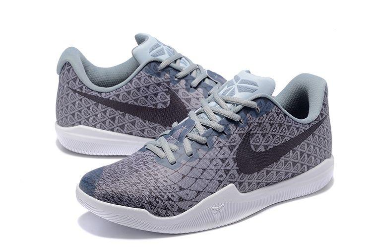 9b820819d957 Cheap Kobe 12(Xii) Gray Black White Basketball Shoes