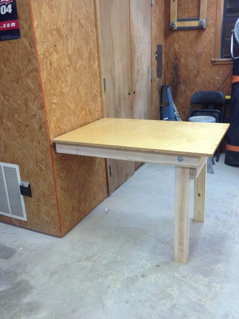 Diy Fold Down Workbench Diy Workbench Workbench Plans Workbench