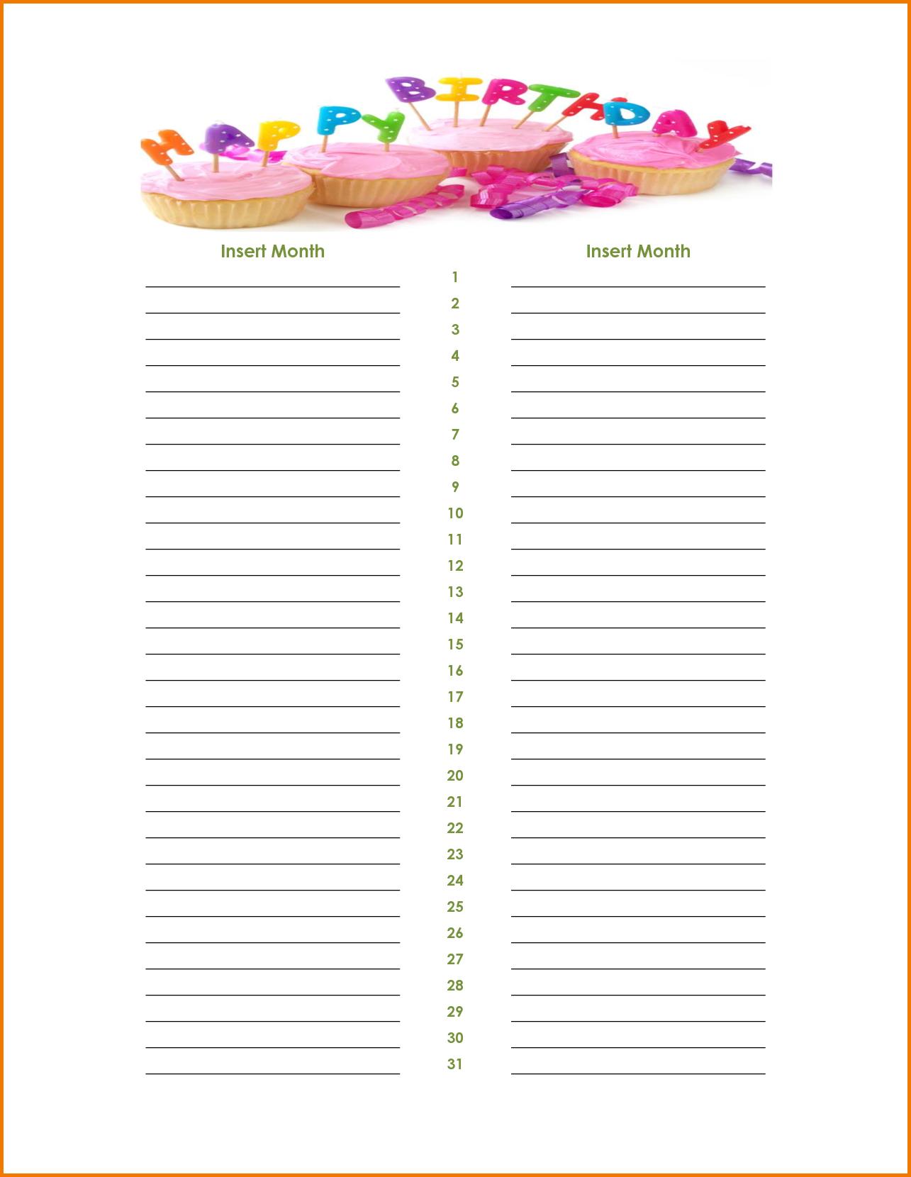 Birthday Calendar Template Word from i.pinimg.com