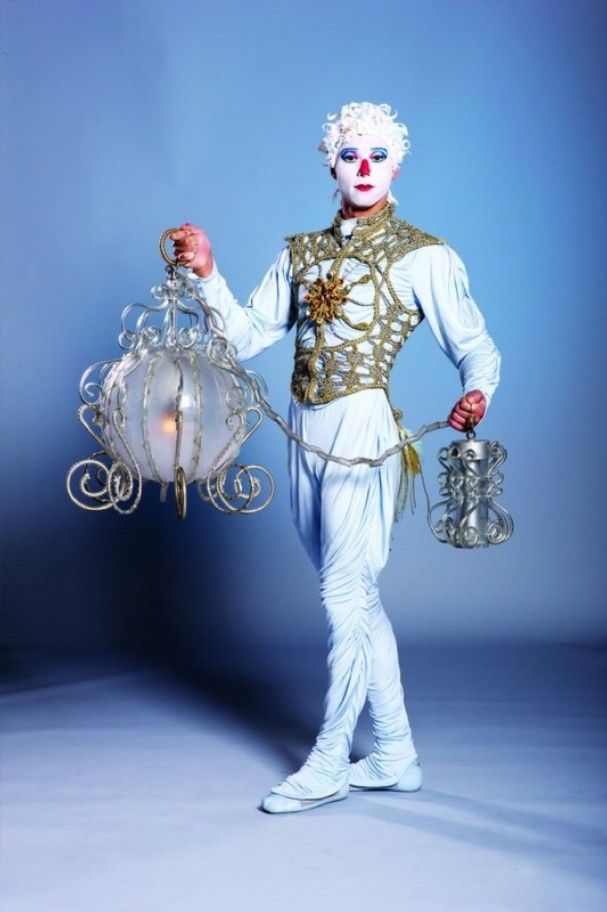 Cirque Du Soleil Characters: Angel. Cirque Du Soleil's Alegria Will Be At Germain Arena