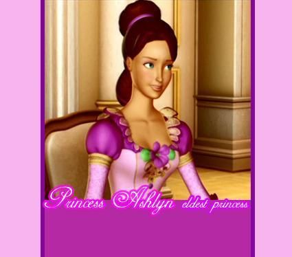 Barbie In The 12 Dancing Princesses Princess Ashlyn Barbie 12